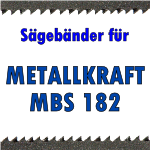 METALLKRAFT MBS 182
